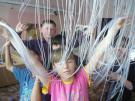 Ученики 5-ого класса в сенсорной комнате
