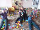 Ученики 5-го класса в сенсорной комнате