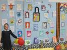 Выставка работ, посвященных Дню матери